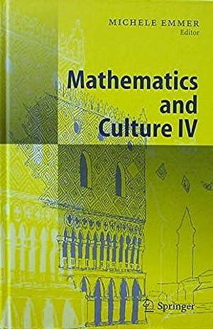 Mathematics and Culture IV: Emmer Michele (ed)