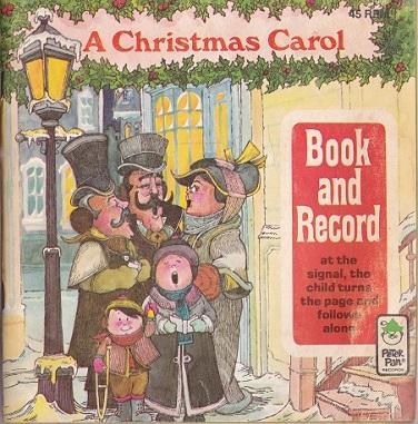 Christmas Carol Book.A Christmas Carol Book And Record