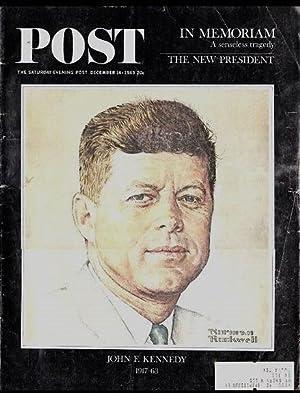 The Saturday Evening Post December 14 1963