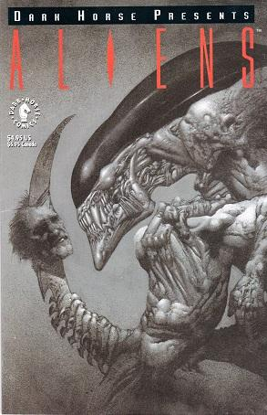 Dark Horse Presents: Aliens #1, May, 1992