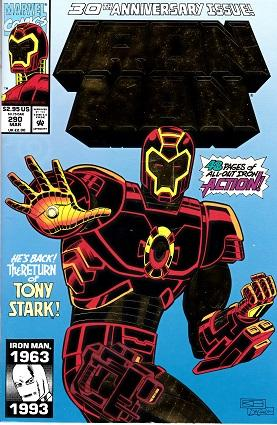 Iron Man: 30th Anniversary Issue! #290