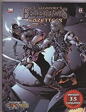 R A  Salvatore's Demon Wars Gazetteer  D20