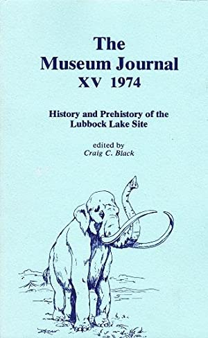 History and Prehistory of the Lubbock Lake: Black, Craig C.