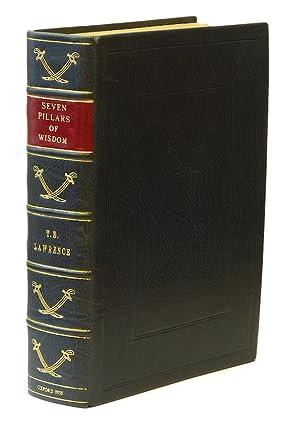 Seven Pillars of Wisdom. A Triumph. London,: LAWRENCE, T. E.