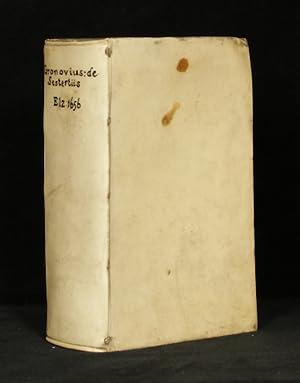 De sestertiis seu subsecivorum pecuniæ veteris Græcæ: GRONOVIUS, J. F.