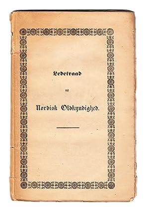 Ledetraad til nordisk oldkyndighed, udgiven af det: THOMSEN, Christian J.