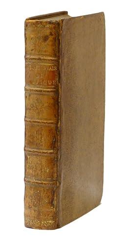 Dictionnaire de Musique, par J. J. Rousseau.: ROUSSEAU, Jean Jacques.