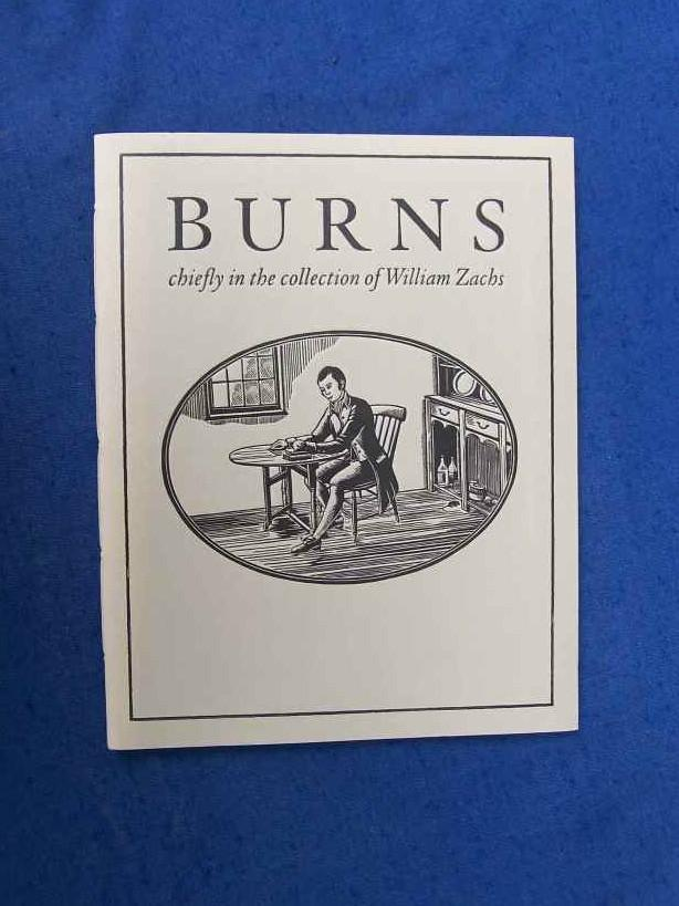Burns chiefly in the collection of William Zachs.