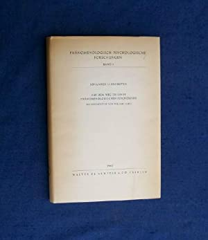 Auf Dem Wege Zu Einer Phanomenologischen Psychologie. Die Psychologie von William James.: ...