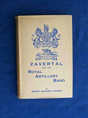Cavaliere Zavertal and the Royal Artillery Band.: Farmer, Henry George.