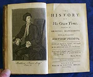 The History of His Own Time (with) Miscellaneous Works.: Prior, Matthew & Adrian Drift.