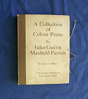 A Collection of Colour Prints By Jules Guerin, Maxfield Parrish. Forty-five Plates.