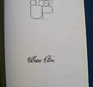 Close Up (SIGNED).: Klein, William.