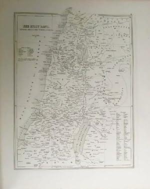 The Explanatory Bible Atlas and Scripture Gazetteer.: Jenks, William.