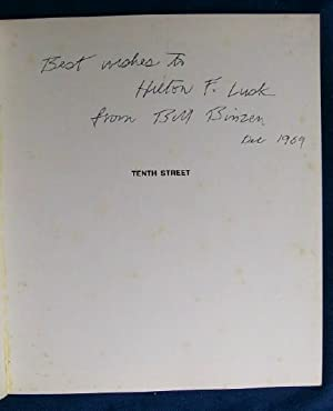 Tenth Street (SIGNED).: Binzen, Bill.