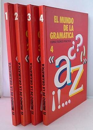 EL MUNDO DE LA GRAMATICA 4 TOMOS: GÓMEZ, SERGIO RAFAELDIR.