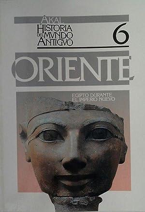 AKAL HISTORIA MUNDO ANTIGUO. ORIENTE 6. EGIPTO IMPERIO NUEVO: PRESEDO VELO, FRANCISCO
