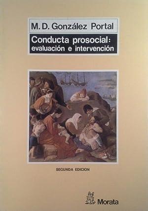 CONDUCTA PROSOCIAL: GONZÁLEZ PORTAL, MARÍA