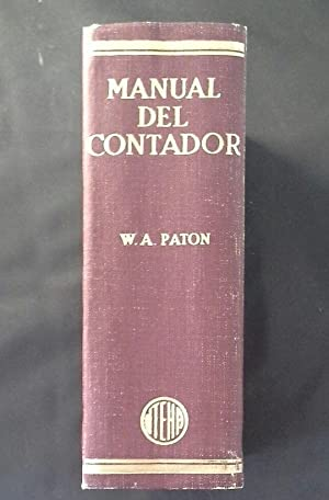 MANUAL DEL CONTADOR: PATON, W. A.