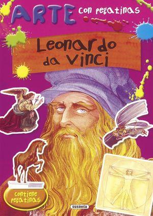 ARTE CON PEGATINAS: LEONARDO DA VINCI: VV.AA.