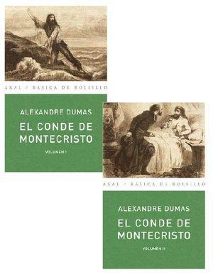 EL CONDE DE MONTECRISTO (2 VOL.): DUMAS, ALEXANDRE