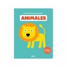 Mi Primer Libro Para Colorear Animales Auzou 9782733866146