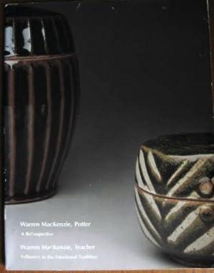 WARREN MacKENZIE, POTTER: A Retrospective: Davis, Lewis, Curated