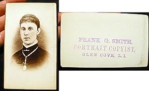 Vintage Carte-de-Visite Photograph from the Studios of: Glen Cove)