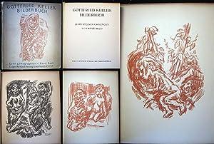Gottfried Keller - Bilderbuch Zehn Steinzeichnungen Von Rene Beeh: Art - German - 20th Century - ...