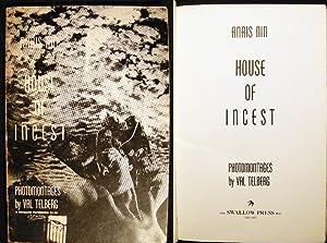The House of Incest: Nin, Anais