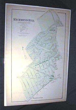 Original Map of Richmond Hill Long Island: Beers Atlas)