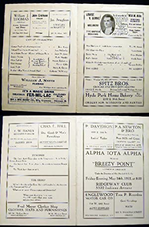 """1912 Alpha Iota Alpha Presents """"Breezy Point"""" a Comedy in Three Acts under the Direction ..."""