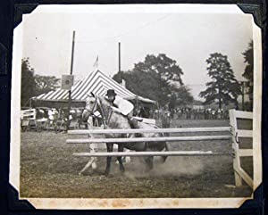 Circa 1935 - 1940 Album of Photographs: Florida & New Jersey Locations, Horses & Equestrian...