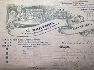 1900 C. Berthel, Wholesale, Export and Import: China - Business