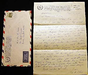1975 Letter Signed on International Atomic Energy: Americana - 20th