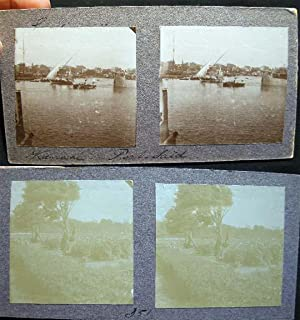 Double - Sided Stereoview of Port Said: Port Said)