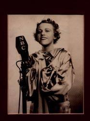 1936 NBC Photo of Helen Marshall: Helen Marshall)