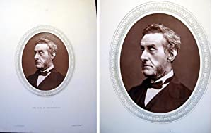 1876 Woodburytype of The Right Hon. The Earl of Shaftesbury, K.G.: Earl of Shaftesbury)