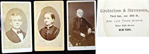 3 C. 1875 Cartes-De-Visite Photographs By Grotecloss & Stevenson, New York: Photography)