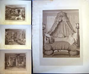 C. 1910 Collection of Large Format Architectural Interior Design Photographs By Theodore C. Marceau...
