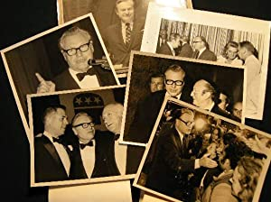 Collection of 6 Press Photographs of Nelson Rockefeller: Nelson Rockefeller)