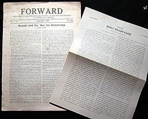 Forward Dedicated to Greater Popular Control of: Forward)