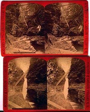 2 Early Watkins Glen Cavern Fall &: Watkins Glen)