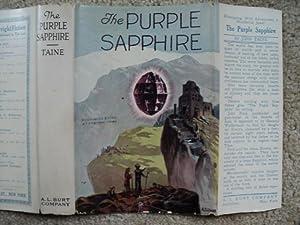 THE PURPLE SAPPHIRE.: Taine, John