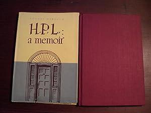 H.P.L.: A Memoir: DERLETH, August / (LOVECRAFT, H. P. )