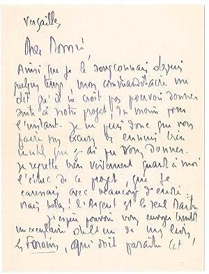 4 lettres autographes signées: DELTEIL Joseph