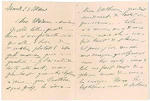 4 lettres autographes signées: PAINLEVÉ Paul