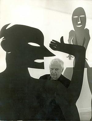 L'artiste au milieu de ses oeuvres: CALDER Alexandre