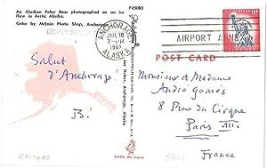 Carte postale autographe signée: BALTHUS, Balthasar Klossowski