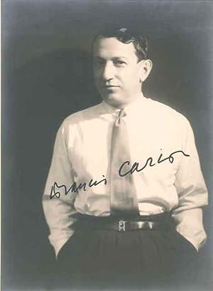 Francis CARCO Portrait photographique: CARCO Francis